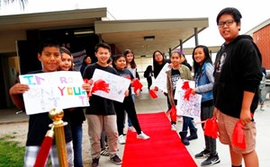 Red Carpet Treatment Motivates Scholars to Keep Up the Good Work - article thumnail image